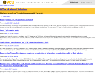 enews.vcualumni.org screenshot