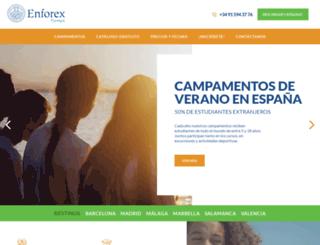 enfocamp.es screenshot