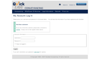 eng.quickconveyancing.com.au screenshot