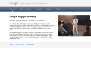 engage-academy.appspot.com screenshot