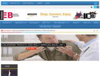 engagedbloggers.com screenshot
