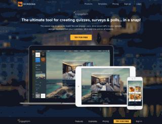 engageform.com screenshot