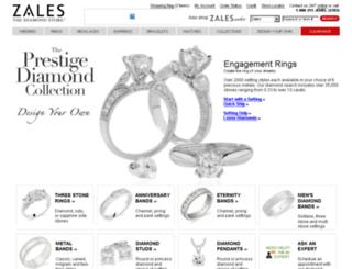 engagementring.theprestigediamondcollection.com screenshot