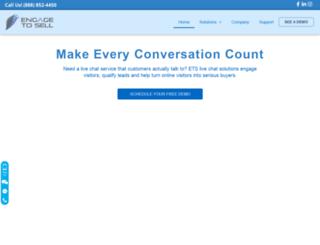 engagetosell.com screenshot