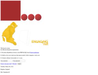 engaging.net screenshot