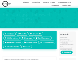 engelmann.uni.lu screenshot