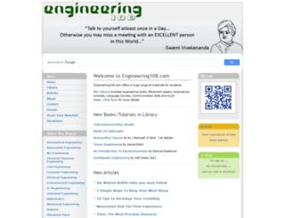 engineering108.com screenshot