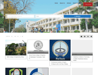 engineeringcollege.in screenshot
