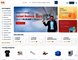 engineeringservices.tradeindia.com screenshot