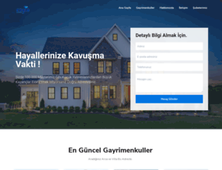 engingayrimenkul.com.tr screenshot