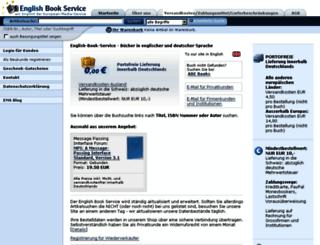 english-book-service.de screenshot