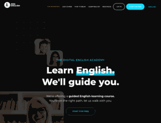 english-e-learning.com screenshot