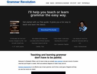 english-grammar-revolution.com screenshot