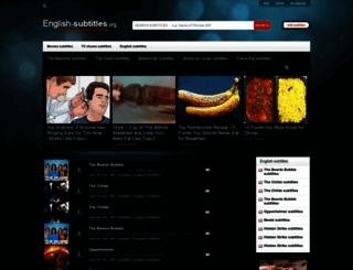 english-subtitles.org screenshot