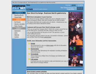 english.partyboerse.net screenshot