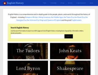 englishhistory.net screenshot