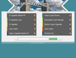 englishrosevapours.co.uk screenshot