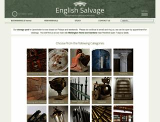 englishsalvage.co.uk screenshot