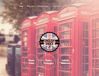 englishshock.pl screenshot