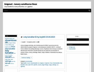 enigma2.hswg.pl screenshot
