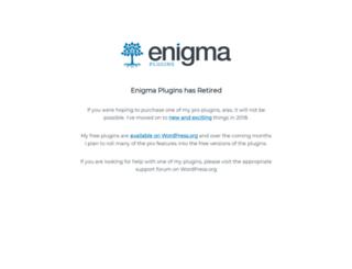 enigmaplugins.com screenshot