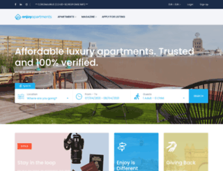 enjoy-apartments.com screenshot