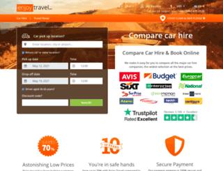 enjoycarhire.com screenshot