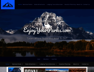 enjoyyourparks.com screenshot