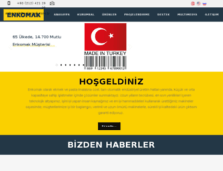 enkomak.com.tr screenshot