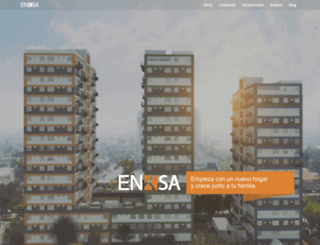 enksa.com.mx screenshot