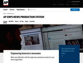 enps.com screenshot