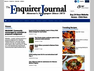 enquirerjournal.com screenshot