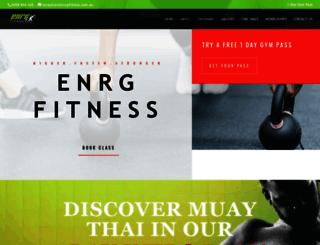 enrgfitness.com.au screenshot