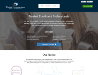 enrollmentcompany.com screenshot