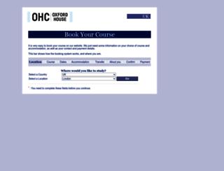 enrolment.oxfordhousecollege.co.uk screenshot