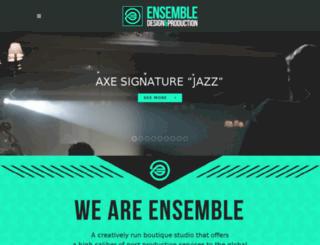 ensemblepost.com screenshot