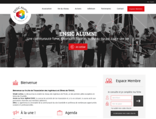 ensic-alumni.fr screenshot