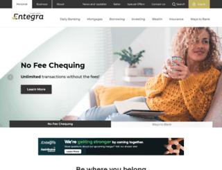 entegra.ca screenshot