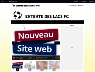 ententedeslacs.footeo.com screenshot