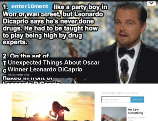 enter10ment.org screenshot