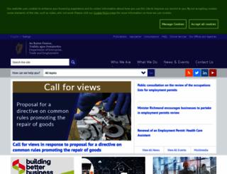 enterprise.gov.ie screenshot