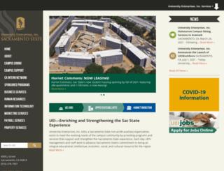 enterprises.csus.edu screenshot