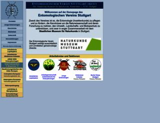 entomologie-stuttgart.de screenshot