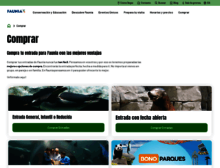 entradas.faunia.es screenshot
