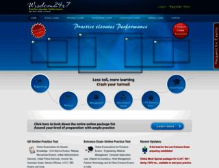 entranceexamonline.com screenshot