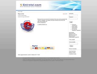 entratel.it screenshot