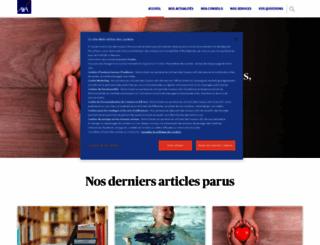 entreaidants.fr screenshot
