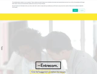 entrecom.com screenshot
