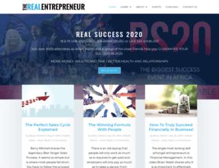 entrepreneur.co.za screenshot