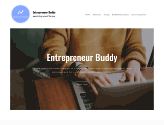 entrepreneurbuddy.net screenshot